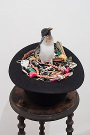 georg-kargl-fine-arts2021mark-dion07collector-in-bowler-hat.jpg